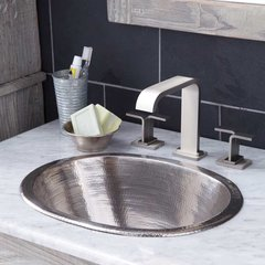 "17"" x 13-1/4"" Cameo Universal Bathroom Sink - Brushed Nickel"