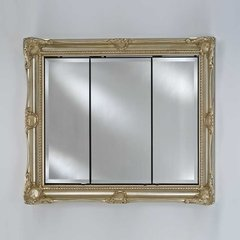 "Vanderbilt 51"" Medicine Cabinet - Royal Antique Silver"