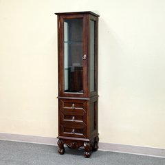 "17"" Linen Tower - Medium Walnut"