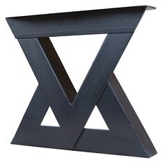 Loray Black Bench Support 20 Inches in Length