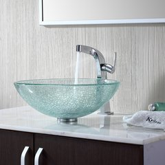 Typhon Vessel Bathroom Faucet - Chrome