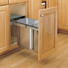 8-785-30 Series Double Pullout Waste Container By Rev-A-Shelf