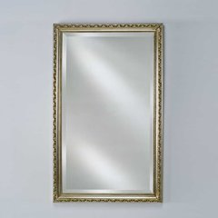 "Estate 24"" Mirror - Antique Silver <small>(#EC10-2430-SV)</small>"
