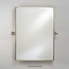 "Radiance Gear Tilt 20"" Mirror - Polished Brass"