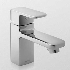 Upton One Handle Single Hole Bathroom Faucet -Brushed Nick