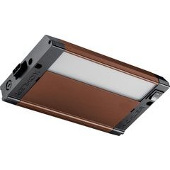 8 Inch 4U Series Under Cabinet LED Light 2700K - Bronze Textured