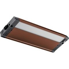 12 Inch 4U Series Under Cabinet LED Light 3000K - Bronze Textured