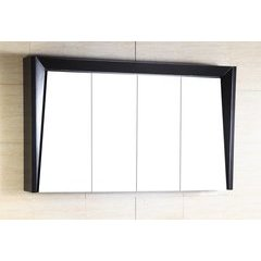 45.5X8X25.5 Inch Vertical Mount Mirrored Cabinet