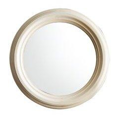 """33"""" X 33"""" Victoria Round Mirror Vanilla Oak"""