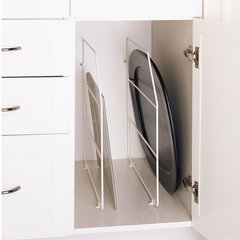 """Tray Divider 12""""- White with clips"""
