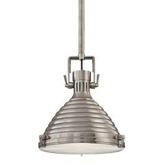 Naugatuck 1 Light Pendant - Antique Nickel