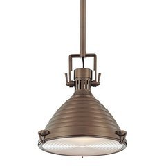 Naugatuck 1 Light Pendant - Historic Bronze