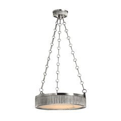 Lynden 4 Light Pendant - Polished Nickel
