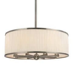 Hastings 8 Light Chandelier - Historic Nickel