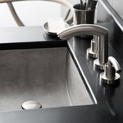 "20"" x14"" Cabrillo Universal Mount Bathroom Sink - Ash"