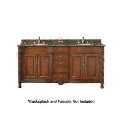 "72"" Classico Double Sink Bathroom Vanity - Cherry"