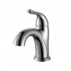 Arcus Single Hole Bathroom Faucet - Chrome