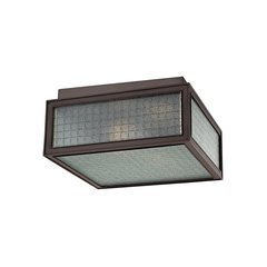 Freemont 2 Light Flush Mount - Old Bronze