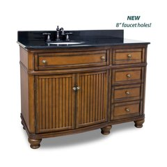 "48"" Compton Single Sink Vanity - Walnut"