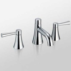 Nexus Two Handle Widespread Bathroom Faucet -Polished Nick