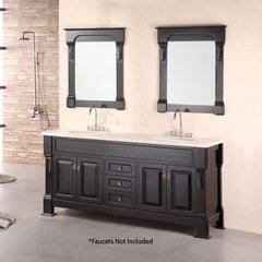 """72"""" Marcos Double Sink Bathroom Vanity - Espresso"""