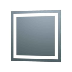 "Illume 24"" x 24"" Square Mirror - LED Backlit"