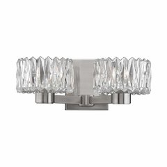Anson 2 Light Bathroom Vanity Light - Satin Nickel