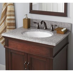 "25"" x 22"" Single Bowl Vanity Top Only w/ Basin - Napoli"