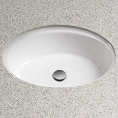 "21-1/4"" x 16-1/4"" Undermount Bathroom Sink - Cotton White"