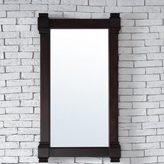 "22"" x 40"" Brittany Wall Mount Mirror - Burnished Mahogany"