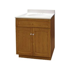 "24"" Heartland Single Sink Bathroom Vanity - Oak"
