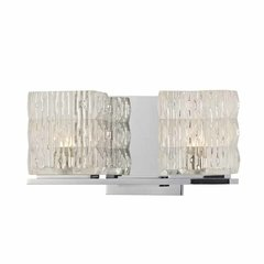 Torrington 2 Light Bathroom Vanity Light - Polished Chrome