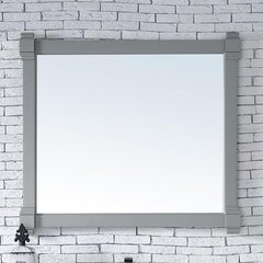 "43"" x 40"" Brittany Wall Mount Bathroom Mirror - Urban Gray"