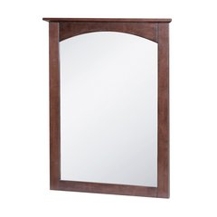 "21"" x 28"" Columbia Wall Mount Mirror - Cherry"