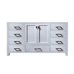 "60"" Modero Single Cabinet Only w/o Top - White"