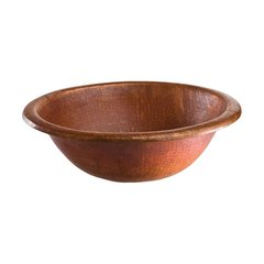 "17-1/4"" Dia Renovations Universal Bathroom Sink-Fired Copper"
