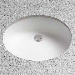 "19-1/4"" x 16-1/4"" Undermount Bathroom Sink - Cotton White"