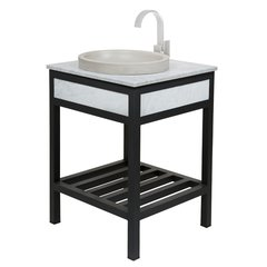 "24"" Cuzco Single Sink Bathrooom Vanity Suite - Cararra"
