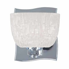 Cove Neck 1 Light Bathroom Sconce - Polished Chrome