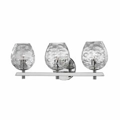 Burns 3 Light Bathroom Vanity Light - Polished Nickel
