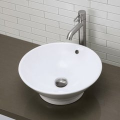 "16-1/2"" x 16-1/2"" Above Counter Bathroom Sink"