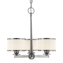 Basking Ridge 3 Light Chandelier - Polished Nickel