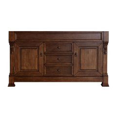 "59"" Brookfield Double Cabinet Only w/o Top - Country Oak"
