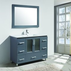 "48"" Stanton Single Sink Bathroom Vanity - Gray"