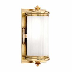 Bristol 1 Light Bathroom Sconce - Aged Brass