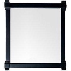 Brittany 39.25 Inch x 35 Inch Mirror - Black Onyx