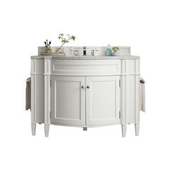 "46.5"" Brittany Single Sink Vanity - Cottage White"