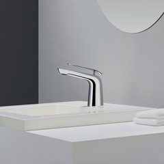 Seda 1 Handle Single Hole Bathroom Faucet - Chrome