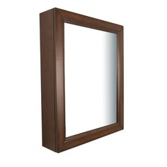 "30"" x 24"" Wall Mount Mirror - Sable Walnut"