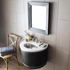 """24"""" Bordeaux Wall Mount Bathroom Vanity Suite - Anvil"""